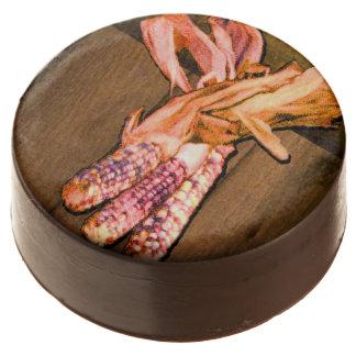 Indian Corn Chocolate Covered Oreo