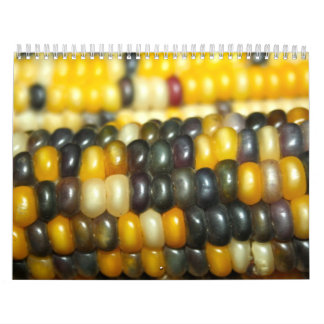 Indian Corn in Many Colours Calendar