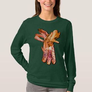 Indian Corn Ladies Long Sleeve T-Shirt