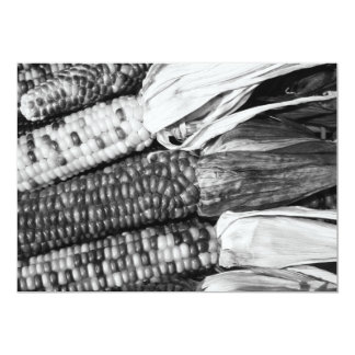 Indian Corn on the Cob Invitation