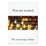Indian Corn We are having a Party, You are invited Personalized Announcements