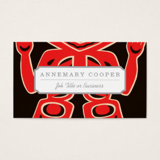 Indian Court, Federal Building Business Card