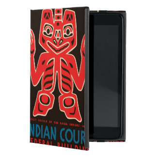 Indian Court, Federal Building Cover For iPad Mini