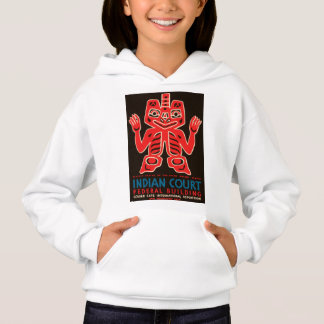 Indian Court, Federal Building Hoodie