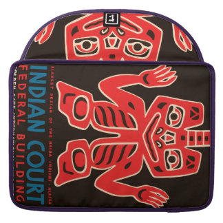 Indian Court, Federal Building MacBook Pro Sleeve