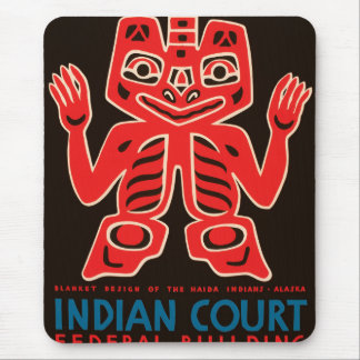 Indian Court, Federal Building Mouse Pad