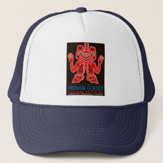 Indian Court, Federal Building Trucker Hat