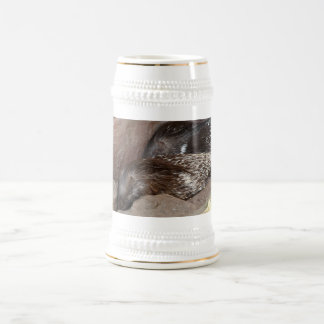 Indian Crested Porcupines Beer Stein
