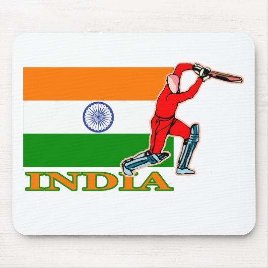 Indian Cricket Player Mouse Pad