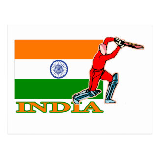 Indian Cricket Player Postcards