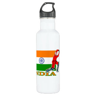 Indian Cricket Player Stainless Steel Water Bottle