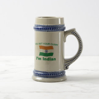 Indian Curry Beer Stein