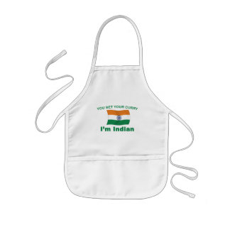 Indian Curry Kids' Apron