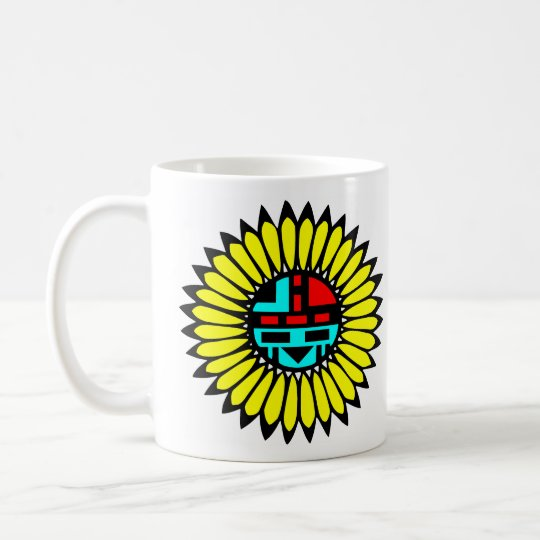 Indian Dance Shield Coffee Mug