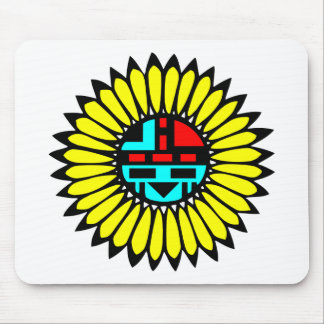 Indian Dance Shield Mouse Pad