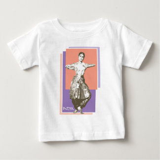 Indian Dancer Baby T-Shirt