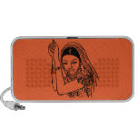 Indian Dancing Woman Mini Speaker