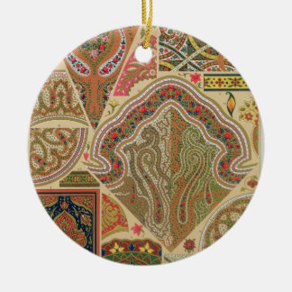 Indian Decoration, plate XIX from 'Polychrome Orna Ceramic Ornament