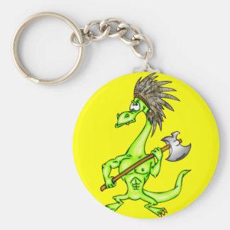 Indian Dragon Keychain