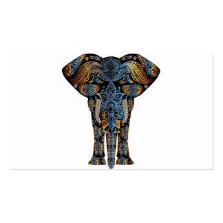 Indian elephant business card