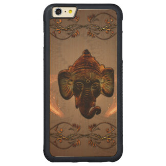 Indian elephant carved® maple iPhone 6 plus bumper