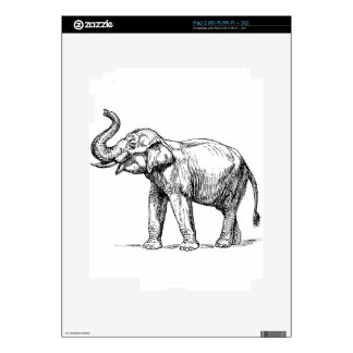 Indian elephant decals for the iPad 2