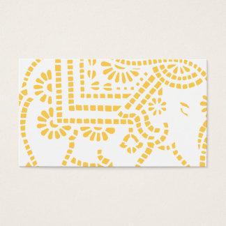 Indian Elephant Design Business Card