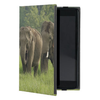 Indian Elephant family coming out of iPad Mini Case