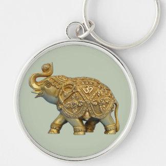 Indian Elephant Keychain
