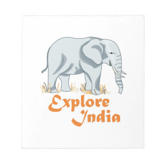 INDIAN ELEPHANT MEMO NOTE PADS
