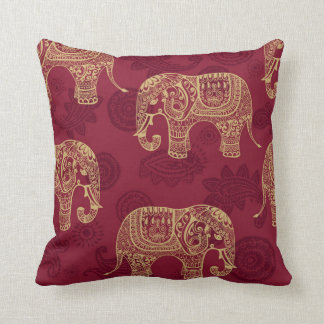 Indian Elephant Pillow