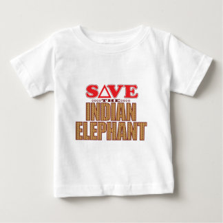 Indian Elephant Save Baby T-Shirt