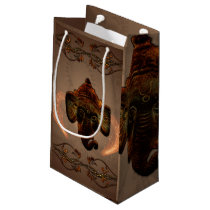Indian elephant small gift bag