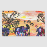Indian Elephant Stickers