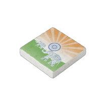 Indian elephant stone magnet