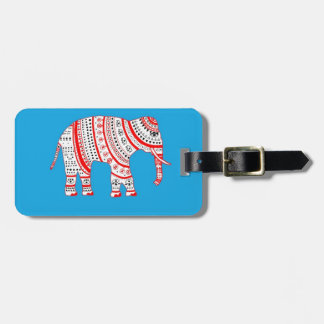 Indian Elephant Tags For Luggage