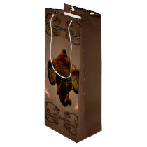 Indian elephant wine gift bag