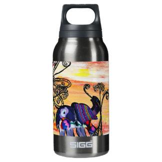 Indian Elephants Insulated Water Bottle