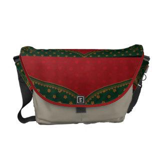 Indian elephants motif bag commuter bags