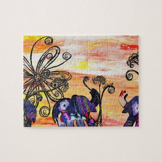 Indian Elephants Puzzle
