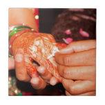 Indian engagement ceramic tiles