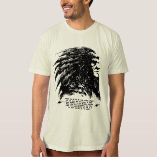 Indian face tee shirt