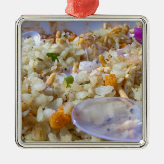 Indian fast food snack christmas tree ornaments