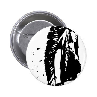 indian feather button