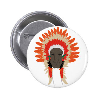 indian feathers face mask pins