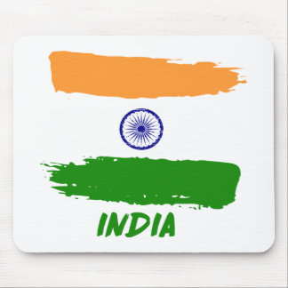 Indian flag designs mouse pad