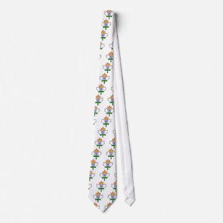 Indian Flag Maple Leaf Tie