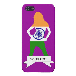 Indian flag on any color case for iPhone SE/5/5s