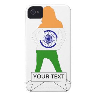 Indian flag on any color Case-Mate iPhone 4 case