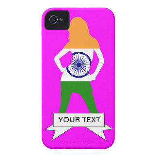 Indian flag on any color iPhone 4 cover